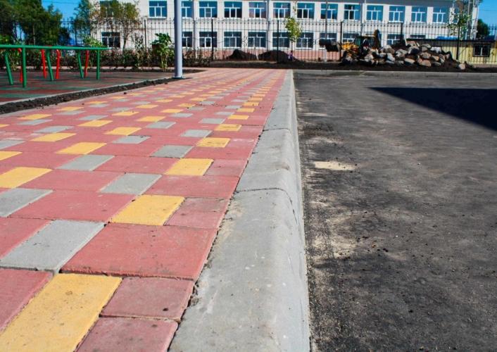 Асфальтировка Школа, площадь: 3400 кв. м, фото 2
